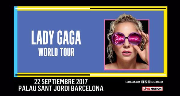 "Lady Gaga anuncia que el ""Joanne World Tour"" pasará por Barcelona"