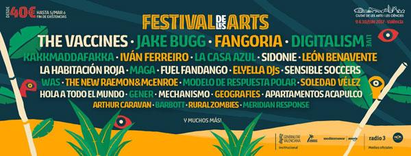 El Festival de Les Arts 2017 confirma a León Benavente