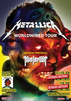 Metallica Spain tour tickets are sold-out