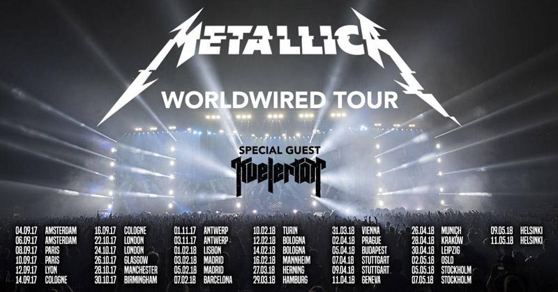 Metallica España 2018
