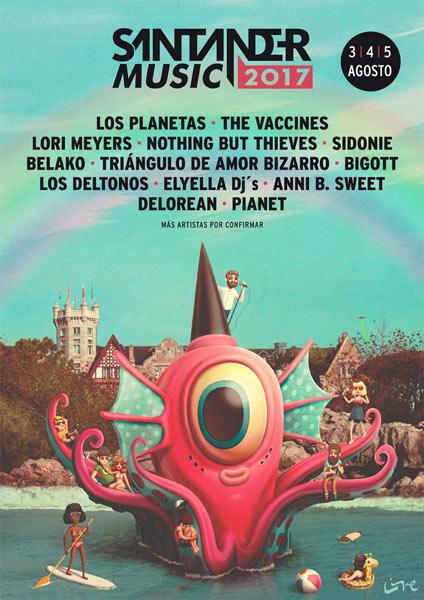 Los Planetas al Santander Music 2017