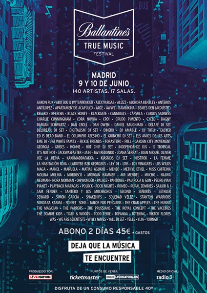 Ballantine´s True Music Festival