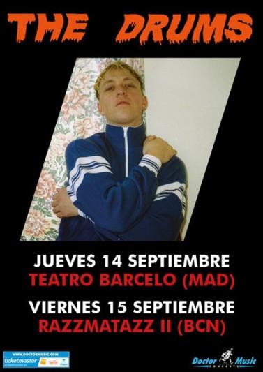 The Drums actuarán en Barcelona y Madrid en septiembre de 2017