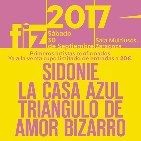 FIZ 2017 primeros nombres