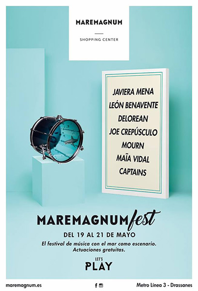 El Maremagnum Fest 2017 contará con Leon Benavente o Javiera Mena