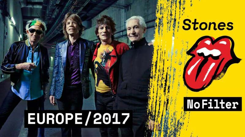 the rolling stones no filter tour 2017