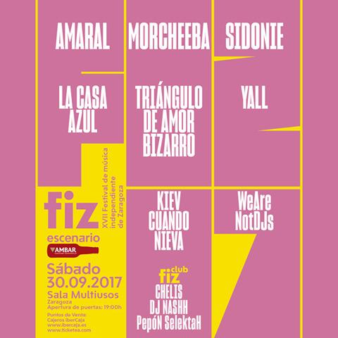 El FIZ 2017 anuncia su cartel completo