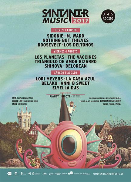 Santander music 2017 - Roosevelt