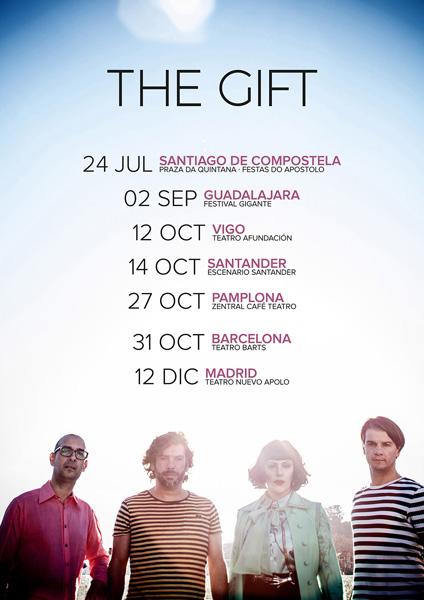The Gift anuncian 7 conciertos en España