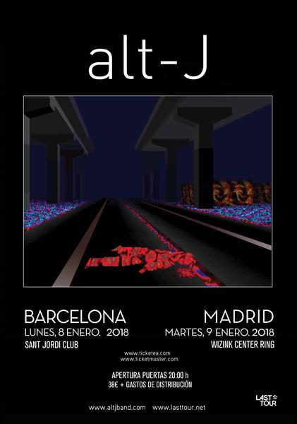 Alt-J anuncian conciertos en Barcelona y Madrid en enero de 2018
