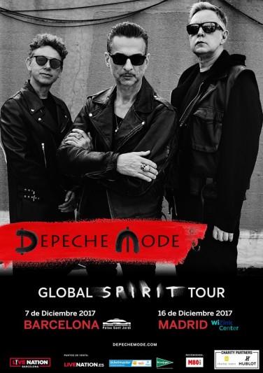 Depeche Mode anuncian conciertos en Madrid y Barcelona en diciembre de 2017