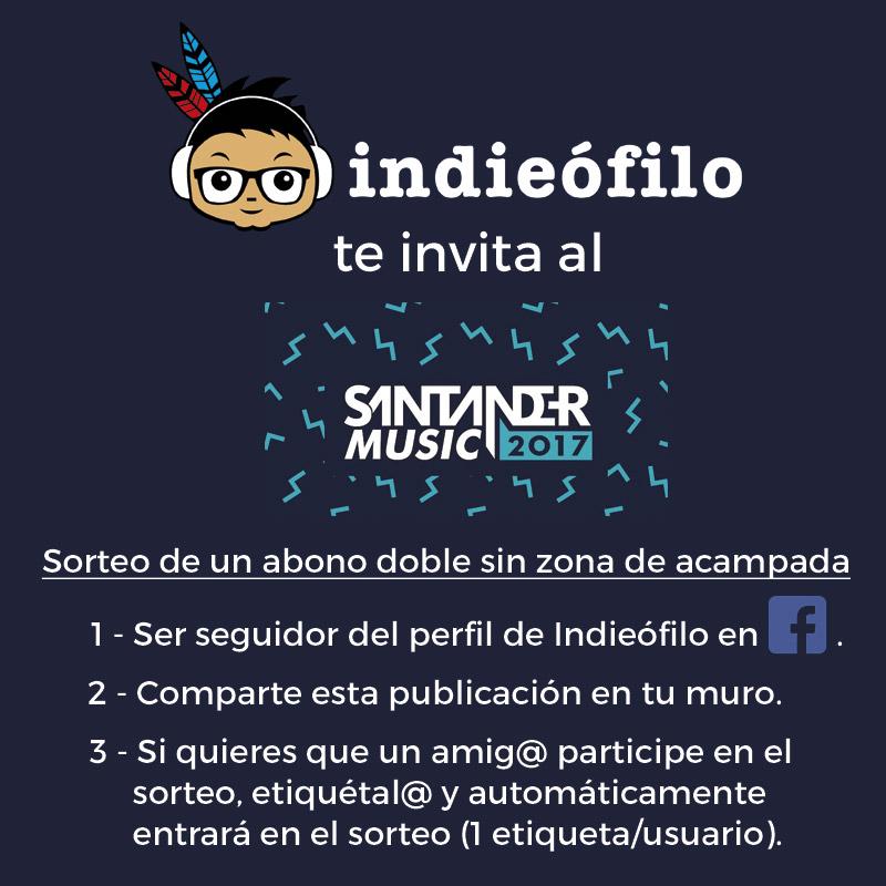 Sorteo abono Santander Music 2017