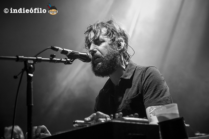 Band of Horses - Ben Bridwell - Barcelona 2017