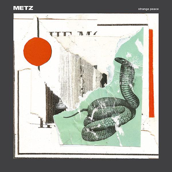 Ya podemos disfrutar en streaming el último disco de METZ, Strange Peace