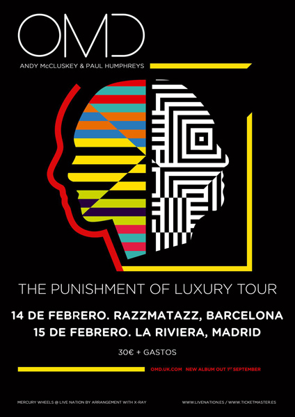 OMD confirm shows in Barcelona and Madrid in February 2018