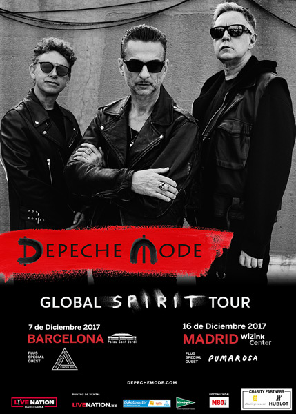 Support bands known for Depeche Mode Spain Tour