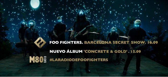 Foo Fighters Barcelona 2017