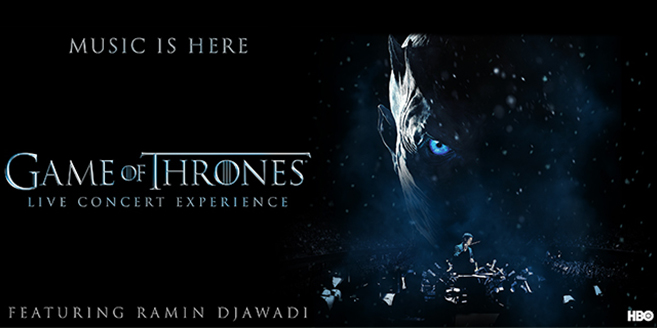 Game of Thrones Live Concert European Tour 2018