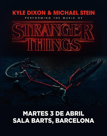 La música de Stranger Things llega a Barcelona