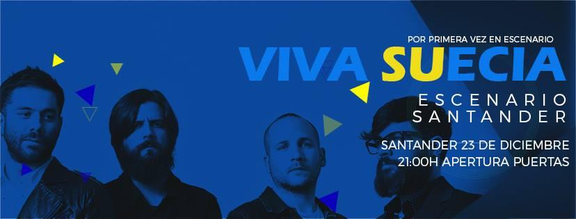 Viva Suecia Santander 2017