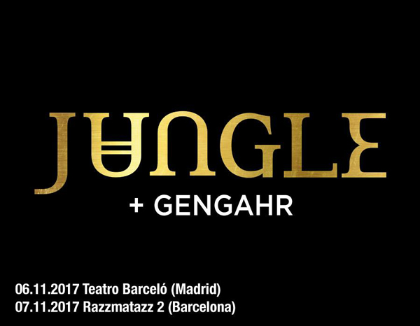 Jungle y Gengahr actuarán en Madrid y Barcelona en noviembre de 2017