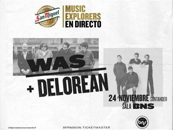 WAS y Delorean en noviembre en Santander