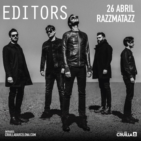 Editors in Barcelona by the hand of Cruïlla Produccions