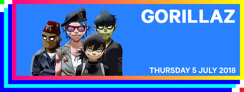 Gorillaz confirmed for Belgium's Rock Werchter 2018