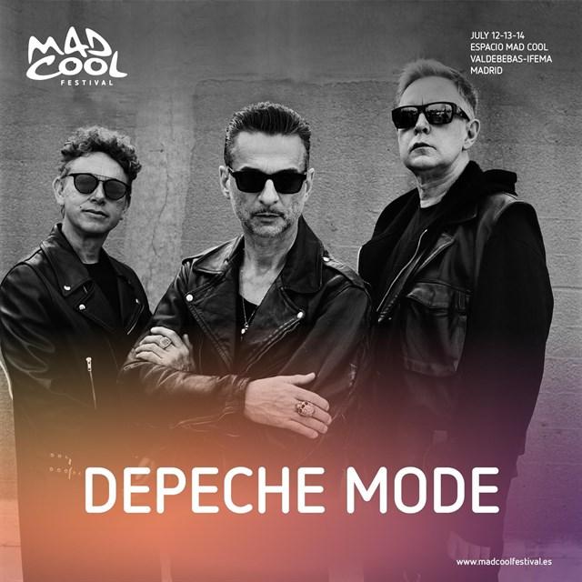Depeche Mode y Massive Attack, al Mad Cool Festival 2018