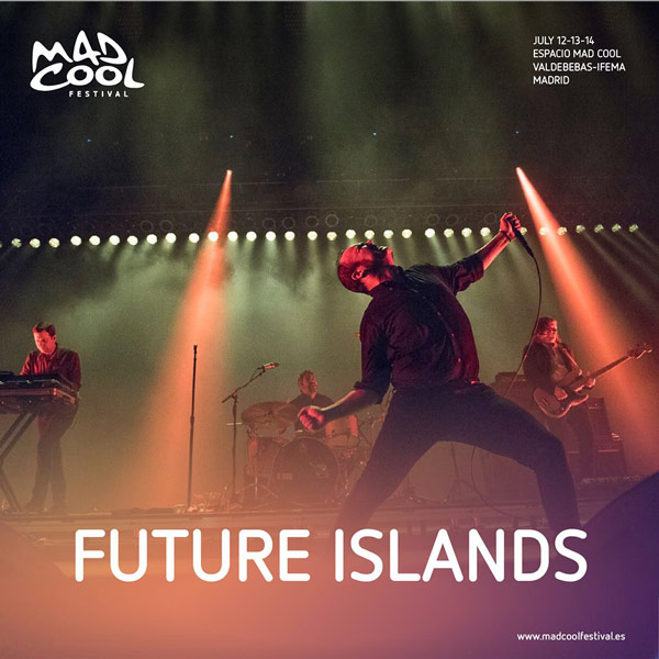 Future Islands al Mad Cool Festival 2018