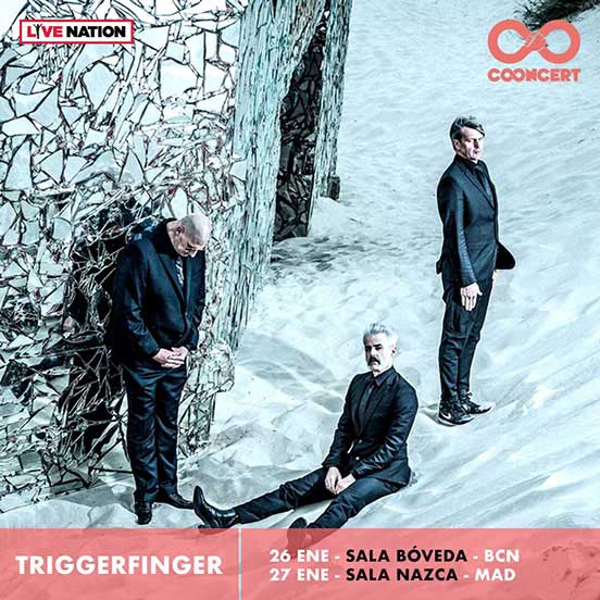 Triggerfinger have announced a Spain tour for January 2018
