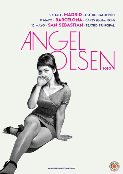 Angel Olsen de gira por España en mayo de 2018