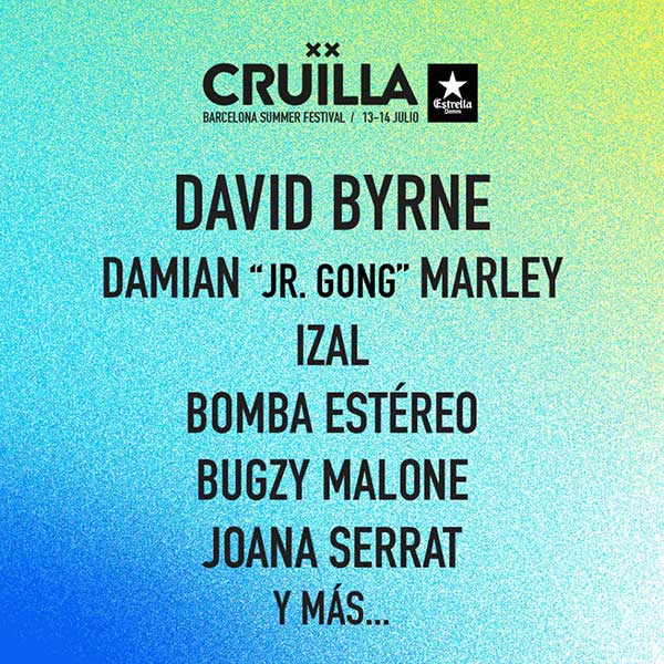 Cruilla 2018 David Byrne