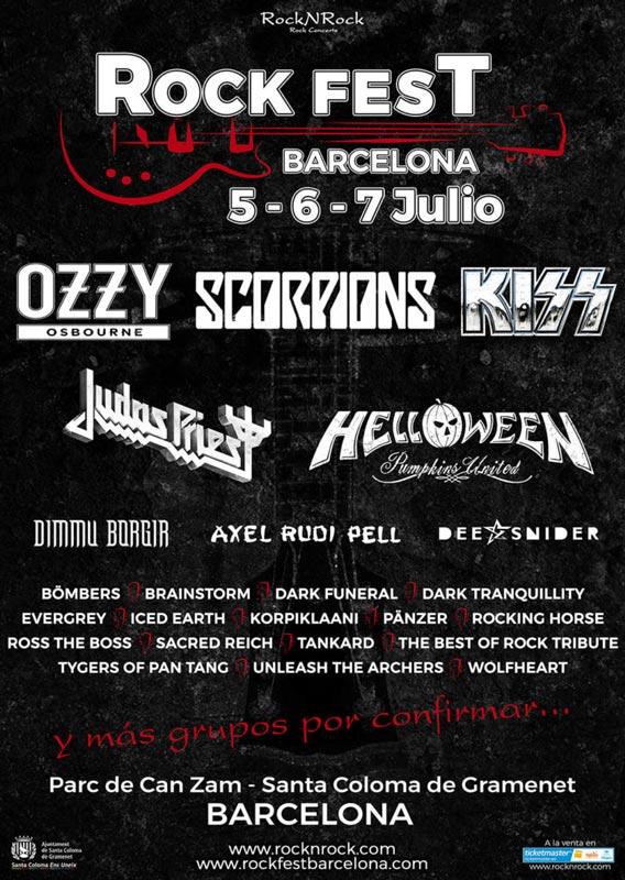 Scorpions al Rock Fest Barcelona 2018