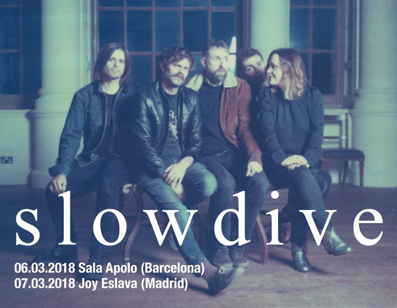 Slowdive announce March 2018 Spanish Tour Dates