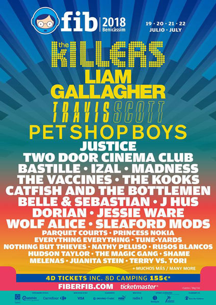 Pet Shop Boys lead the batch of new names confirmed for FIB 2018