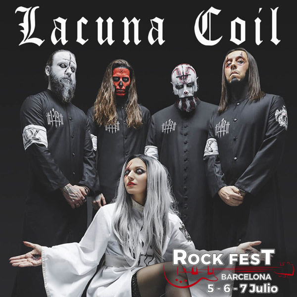 Rock Fest Barcelona 2018 Lacuna Coil