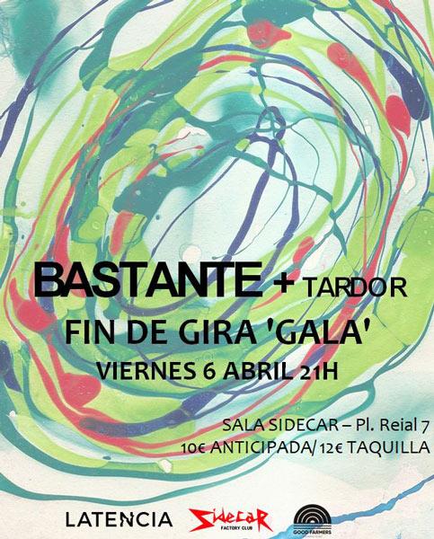 Tardor actuarán en Barcelona el 6 de abril