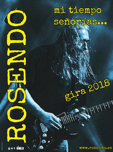 Rosendo anuncia gira de despedida con concierto final en Barcelona