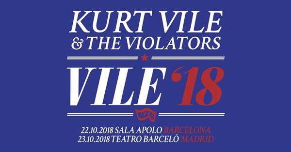 Kurt Vile & The Violators actuarán en España en octubre de 2018