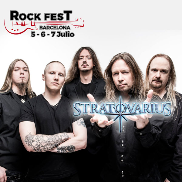 Rock Fest Barcelona 2018 closes its lineup with Stratovarius