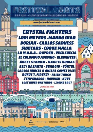 Coque Malla, Viva Suecia, Bely Basarte y Navier al Festival de les arts VOL. 4