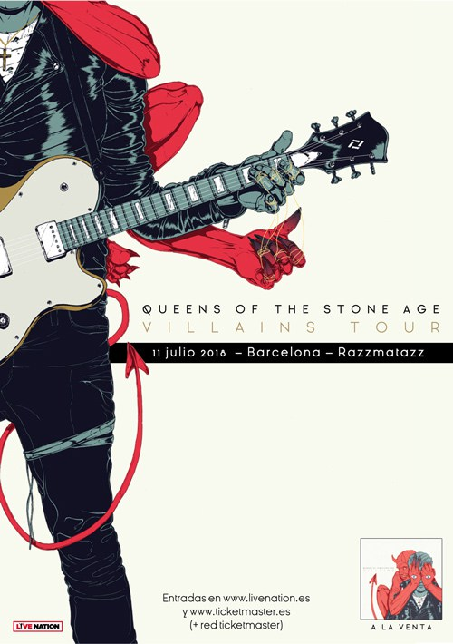 Queens Of The Stone Age Barcelona