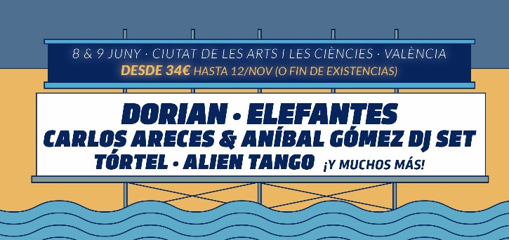 Primeras confirmaciones Festival de Les Arts 2018