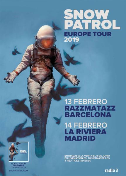 Snow Patrol España 2019