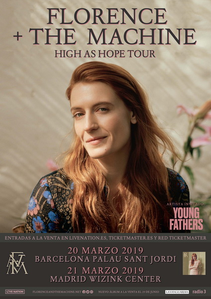 Florence + the machine España 2019