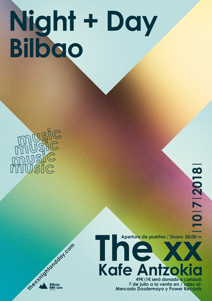 The XX announces a concert for 400 spectators in Bilbao