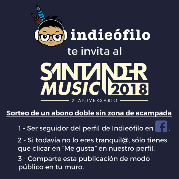 sorteo Santander Music 2018