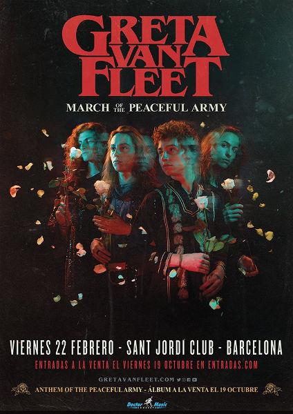 Greta Van Fleet announce 2019 world tour
