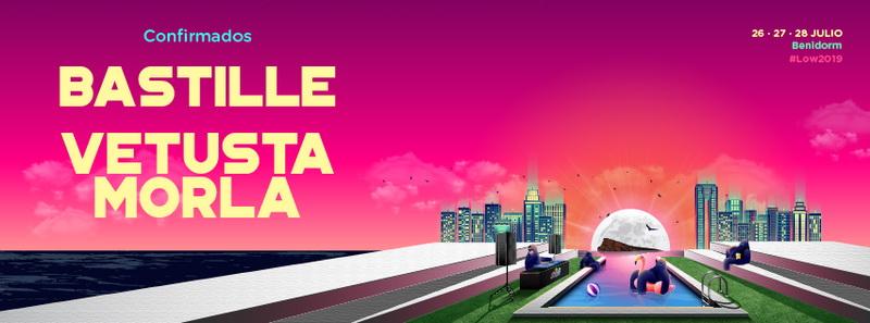 Bastille y Vestusta Morla, primeras confirmaciones del Low Festival 2019